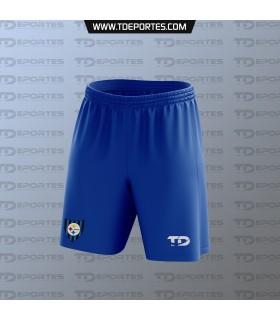 Short TD Escuela Huachipato - Color azulino